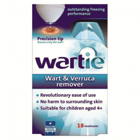Wartie Advanced Cryotherapy Wart and Verruca Remover - 50ml
