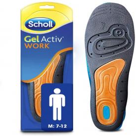 Scholl Gel Active Work Insoles Men - 1 Pair