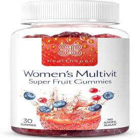 Healthspan Womens Multivitamin Super Fruit Gummies - 30 Tablets