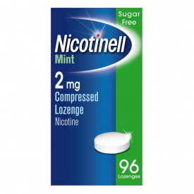 Nicotinell Mint 2mg  – 96 Lozenges