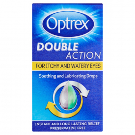 Optrex Double Action Itchy & Watery Eye Drops - 10ml
