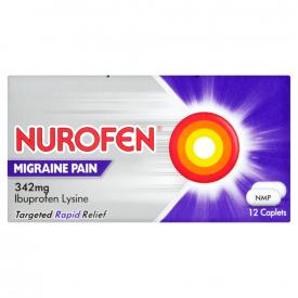 Nurofen Migraine Pain - 12 x 342mg Caplets