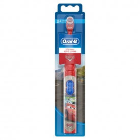Oral-B Stages Power Disney Pixar Cars Kids Battery Toothbrush with Magic Timer