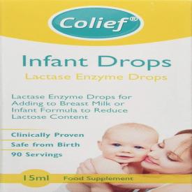 Colief Lactase Enzyme Infant Drops - 15ml