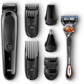 Braun 8-In-1 Trimmer MG3060 Face & Head Precision Trimming Kit