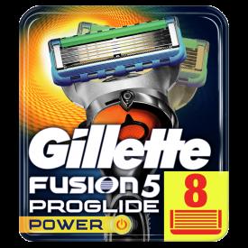 Gillette Fusion5 ProGlide Power Razor Blades – 8 Pack