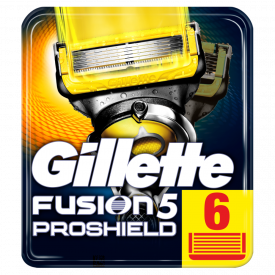 Gillette Fusion5 ProShield Blades – 6 Pack