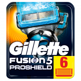 Gillette Fusion ProShield Chill Blades 6 Pack