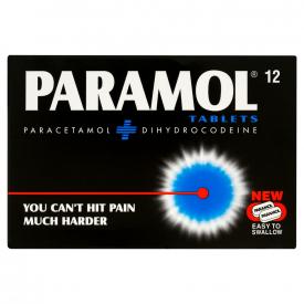 Paramol (Dihydrocodeine/Paracetamol) - 12 Tablets