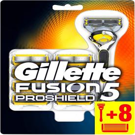 Gillette Fusion Proshield Razor & 8 Blade Refills