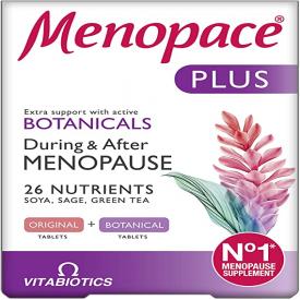 Vitabiotics Menopace Plus Menopause – 56 Tablets