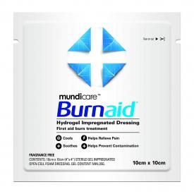 Burnaid Hydrogel Burn Dressing - Single