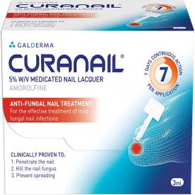 Curanail 5% Medicated Nail Laquer - 3ml