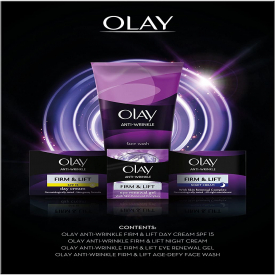Olay Anti-Wrinkle Firm & Lift Gift Set - 4 Piece