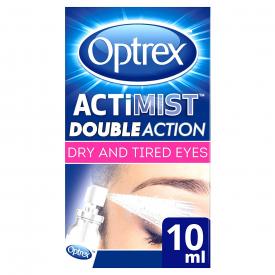 Optrex ActiMist 2 In 1 Dry + Irritated Eye Spray – 10ml