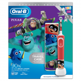 Oral-B Kids Electric Toothbrush Best of Pixar With Travel Case