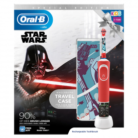 Oral-B Kids Electric Toothbrush Star Wars With Travel Case