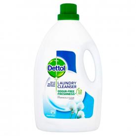 Dettol Antibacterial Laundry Sanitiser Fresh Cotton - 2.5L