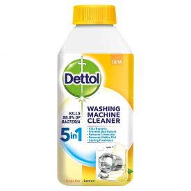 Dettol 5-in-1 Antibacterial Washing Machine Cleaner Lemon Breeze - 250ml