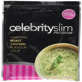 Celebrity Slim Soup Sachet - Roast Chicken Flavour