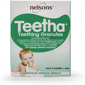 Nelsons Teetha Natural Teething Granules - 24 Sachets