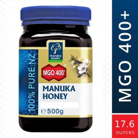Manuka Health MGO 400+ Manuka Honey, 500g