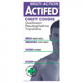 Actifed Multi-Action Chesty Coughs – 100ml
