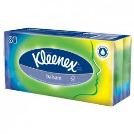 Kleenex Balsam Pocket Tissues - Pack of 8
