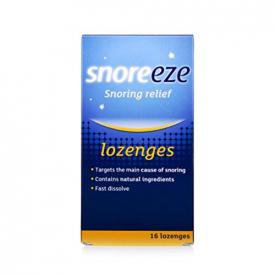 Snoreeze Dual Action Lozenges - 16 Pack