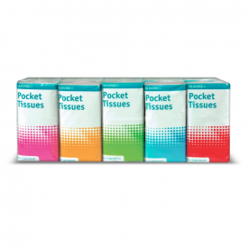 Numark Pocket Tissues - 10 Pack of 10 Tissues - 3 Ply