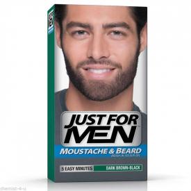Just For Men Moustache & Beard Dark Brown-Black M-45