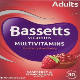 Bassetts Adult Multivitamins - 30 Chewies