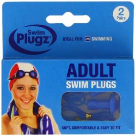 Swim Plugz Adult Ear - 2 Pairs