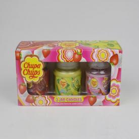 Chupa Chups 3 Jar Candles