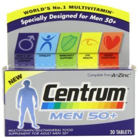 Centrum Men 50 Plus - 30 Tablets