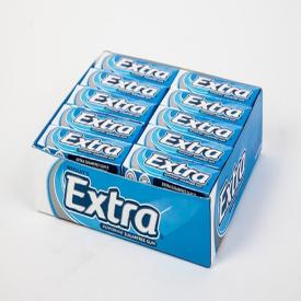 Wrigleys Extra Peppermint Gum - Box of 30 Packs