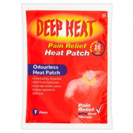 Deep Heat Heat Patch - Pack of 1