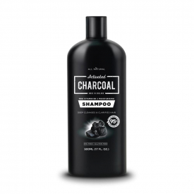 All Natural Activated Charcoal Shampoo 500ml
