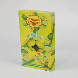 Chupa Chups Tealights Lime & Lemon Tealights 10 Pack