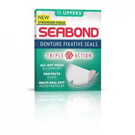 Seabond Original Denture Fixative Seals - 15 Uppers