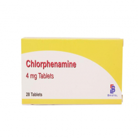 Chlorphenamine (4mg) - Hay Fever & Allergy Relief - 168 Tablets (Brand May Vary)
