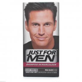 Just For Men Shampoo-In Haircolour Natural Real Black H-55