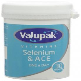 Valupak Vitamins Selenium & A C E - 30 Tablets