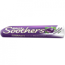 Halls Soothers Blackcurrant Lozenges 45g