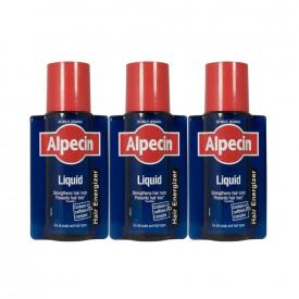 Alpecin Caffeine Liquid 200ml - Pack of 3