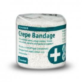 Numark Crepe BP Bandage 5cm x 4.5m