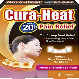 Cura-Heat Neck & Shoulder Pain - 2 Heat Packs