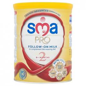 SMA Follow-On Milk 2 6+ Months 900g