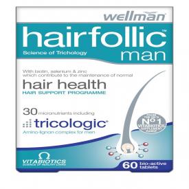 Vitabiotics Hairfollic Man - 60 Bio-Active Tablets