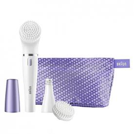 Braun Purple Face 832 Facial Epilator & Cleansing Brush